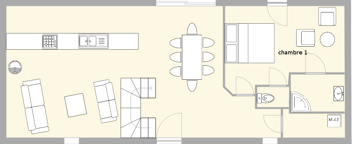 trolann gite quimper location vacances quimper. Black Bedroom Furniture Sets. Home Design Ideas